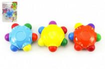 Pastelky hvězda voskovky 6 barev na kartě 10x13cm - mix variant či barev