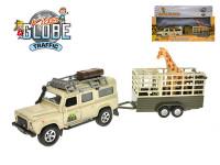 Land Rover Defender 14 cm kov zpětný chod s přívěsem 14 cm a žirafou