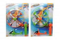 Vystřelovací vrtulník se světlem - mix variant či barev