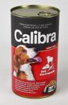 Calibra Dog konz.-hovězí + játra + zelenina v želé 1240 g