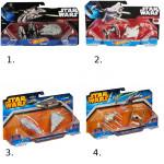Hot Wheels Star Wars 2ks hvězdná loď - mix variant či barev - VÝPRODEJ