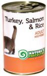 Nature's Protection Cat konz.Neutered krůta/losos 400 g