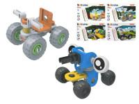 Stavebnice vozidlo šroubovací 17-24 dílků - mix variant či barev