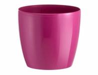 Obal na květník MADEIRA LUXY plast fialovo růžový d14x12cm - VÝPRODEJ