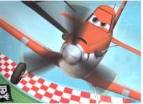 Dárková taška dětská XL- Letadla - VÝPRODEJ