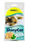 Gimpet kočka konz. ShinyCat  kuře/krevety 2x70g - VÝPRODEJ