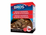 Rodenticid BROS měkká návnada na myši a potkany 150g