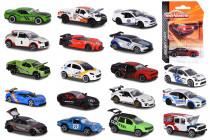 Majorette Autíčko kovové Racing - mix variant či barev - VÝPRODEJ
