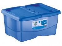 box úložný TRENDYCOLOR 12l, 40x30x18cm s víkem plastový, MO, RŮŽ - VÝPRODEJ