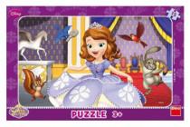 Puzzle 15 dílků Sofia první