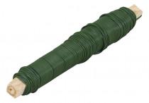 Drát vázací - polakovaný zelený 0,68 mm x 100 g