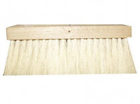 kartáč na dehet 23x8cm na hůl dřev., fíbr vlákno