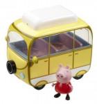 Prasátko Pepa - kempingový vůz Peppy + figurka