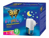 Odpařovač BIOLIT FAMILY elektrický 45 nocí 27ml