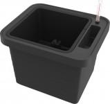 Plastia truhlík samozavlažovací Berberis Uno - anthracite  45 cm