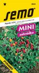 Semo Paprika zeleninová pálivá - Pyramid, okrasná 20s - série Mini  /SHU 40 000/ - VÝPRODEJ