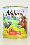 TOBBY konz. Natural Beef 850g - VÝPRODEJ