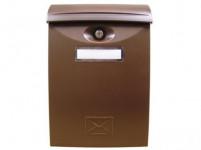 schránka poštovní plastová, 240x340x90mm HN