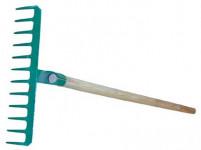hrábě 16z d.45,5cm ocel S NÁSADOU 150cm