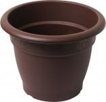 Plastia obal Muškát - čokoládový 35 cm