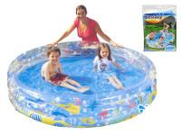 Bazén 152x30 cm 3 komory 317 L
