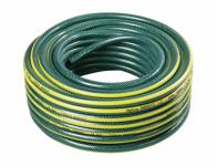 Hadice GARDENIE 1/2 zelená se žlutými pruhy,černá duše 25m