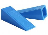 zarážka dveřní klínek 11x3cm plastová (2ks)