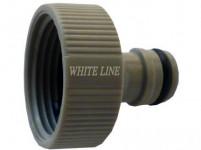 """adaptér s vnitřním závitem 1"""", WL-2197, WHITE LINE"""