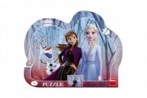 Puzzle deskové Ledové království II/Frozen II 35,5x28cm 25 dílků