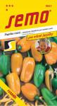 Semo Paprika zeleninová sladká - Hamík® na pole i k rychlení 30s - série Pro mlsné jazýčky - VÝPRODEJ