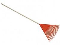 hrábě na listí plastové, B20 S NÁSADOU 140cm