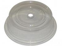 kryt do mikrovlnné trouby 24cm s otvorem plastový - mix barev