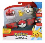 Pokémon Clip ´N´ Go Poké Ball s páskem - mix variant či barev