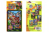 Třpytivý nalepovací obrázek 15x10cm - mix variant či barev