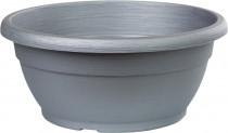 Žardina Similcotto broušená - stříbrná 30 cm