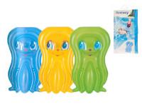 Lehátko chobotnice nafukovací 109x74 cm - mix barev