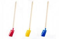 Lopata s násadou kov/dřevo 80cm nářadí - mix barev