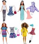 Mattel Barbie Modelka s oblečky a doplňky - mix variant či barev - VÝPRODEJ