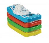Houpačka/Houpací prkénko plast 43x18cm nosnost 60kg - mix barev