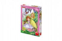 Puzzle Disney Sofia 24 dílků 18x26 cm
