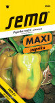Semo Paprika zeleninová sladká F1 - Theos F1 (typ Lamyo) rychl 15s - série Maxi - VÝPRODEJ