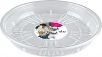 Elho miska Uni-Saucer - transparent 25 cm
