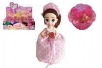 Panenka/Cupcake plast 15cm vonící v krabičce svatební edice - mix variant či barev