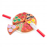 Dřevěná sada PIZZA