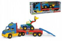 Auto Super Truck návěs s nakladačem plast 78cm Wader