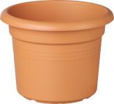 Elho květináč Green Basics Cilindro - mild terra 65 cm - 3 ks - VÝPRODEJ