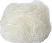 Sisálové vlákno 30 g přírodní (bílé) - VÝPRODEJ