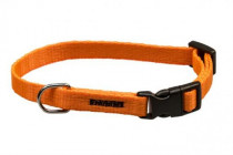 Obojek puppy nylon rozlišovací - oranžový B&F 1,00 x 18-26 cm