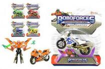 Transformer robot/motorka plast 11cm - mix variant či barev