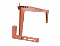 Držák truhlíku balkónový stavitelný terakota